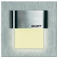 Vestavné LED osvětlení SKOFF Tango Mini, 10 V, 0,4 W, teplá bílá, nerez