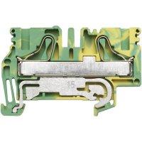 Svorka řadová s ochr. vodičem Weidmüller PPE 16 (1896210000), 12,1 mm, zelenožlutá