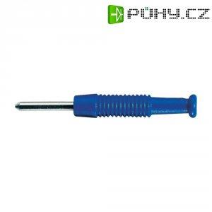 Miniaturní konektor SKS Hirschmann MST 3, Ø 2 mm, modrá