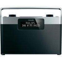 DAB+ rádio Philips AE5430, FM, černá