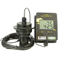 Ultrazvukový měřič výšky hladiny SecuTech LC 102 (ST001003), (adaptér 230 VAC) 6 V/DC