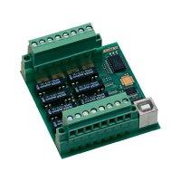 USB modul, Deditec USB-RELAIS-8_B, digitální výstup 8 relé