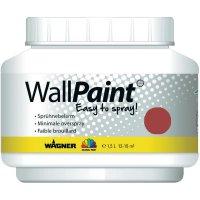 Barva na zeď Wagner velved red, 1,5 l