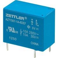 Miniaturní výkonové relé 5 A Zettler Electronics AZ7705T-1A-6DEF, 5 A , 30 V/DC/265 V/AC
