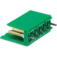 Konektor TE Connectivity 280611-2, zástrčka rovná, 3,96 mm, zelený