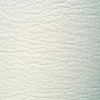 Potah z umělé kůže, 140 x 75 cm, bílá