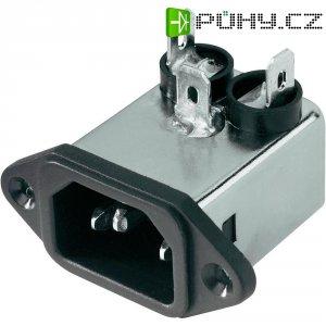 Síťový filtr Yunpen YA01T1, 2 x 3,7 mH, 125/250 V/AC, (50/60 Hz), 1 A