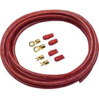 Sada kabelu a zástrček pro autobaterii Sinus Live BK-25P, 25 mm², 5 m