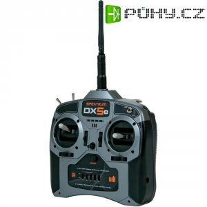 RC souprava palcová Spektrum DX5E Mode 1, 2,4 GHz, 5 kanálů