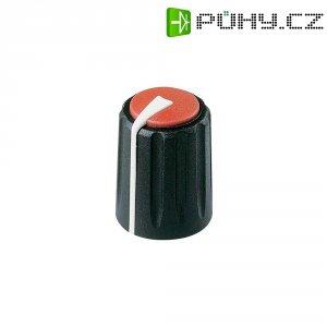 Otočný knoflík Rean Flexifit F 311 S 092, 7,5 mm, černá/červená