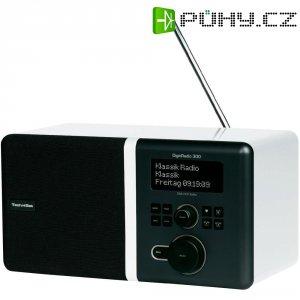 DAB+ rádio TechniSat DigitRadio 300, FM, bílá