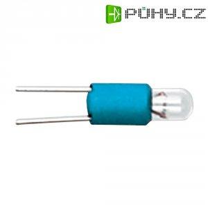 Žárovka LED RAFI, 3 V, Bi-Pin T 1, červená