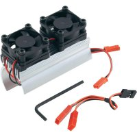 Chladič motoru se 2 ventilátory Reely, 74 mm, 1:8 (EL00711F)