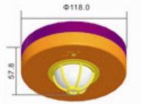 Pohybový spínač PIR - stropní provedení (3 senzory)