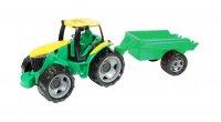Traktor LENA bez lžíce s přívěsem 94 cm