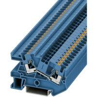 Svorka Push-in průchodová Phoenix Contact PITI 4 BU (3213971), 6,2 mm, modrá
