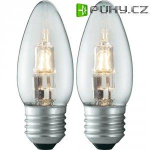 Halogenová žárovka Sygonix, E27, 28 W, 100 mm, stmívatelná, teplá bílá