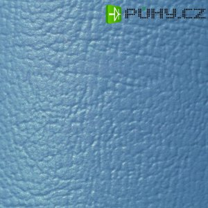 Potah z umělé kůže 140 x 75 cm - modrozelená