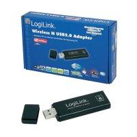 Adaptér WLAN USB 2.0 LogiLink WL0147, 300 MBit/s, 2.4 GHz