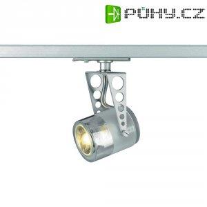 Lištové VN halogenové svítidlo SLV Tobu, GU10, stříbrná/šedá (143372)