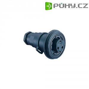 Zásuvka Buccaneer ESKA Bulgin PX0732/S, vnější závit, 3pól., (Ø x d) 38,1 x 65 mm, IP68