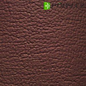 Potah z umělé kůže 140 x 75 cm- hnědá