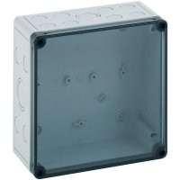 Svorkovnicová skříň polykarbonátová Spelsberg PS 1811-11-tm, (d x š x v) 180 x 110 x 111 mm, šedá (PS 1811-11-tm)