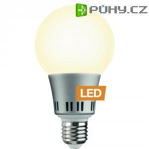 LED žárovka Ledon G80, 24166270, E27, 6 W, 230 V, stmívatelná, teplá bílá