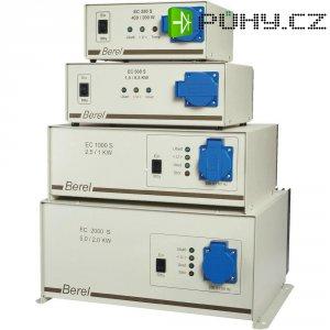 Semi-sinusoidový měnič napětí DC/AC Berel EC 1000S-12V, 12V/230V, 1000 W