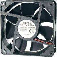 Voděodolný axiální ventilátor, RD12038B24L1, 24 V, 27 dBA, 120 x 120 x 25 mm