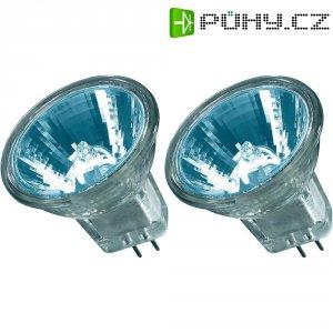 Halogenová žárovka Osram, 12 V, 20 W, G4, Ø 35 mm, stmívatelná, teplá bílá, 2 ks