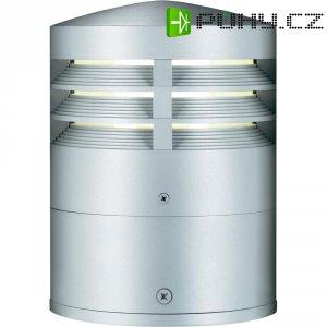 Venkovní sloupové svítidlo Sygonix Ploumeur, 25 cm, stříbrná/šedá
