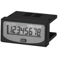 Počítadlo provozních hodin Hengstler tico 731, typ 2, CR0731204