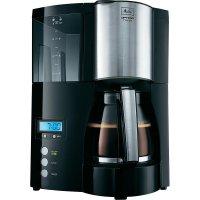Kávovar Melitta Optima, 100801 bk, 850 W, černá/stříbrná
