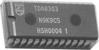 TDA8303A - obvod pro ČB TV, DIL28