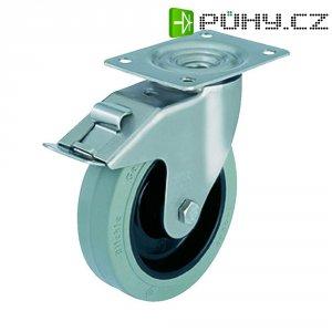 Otočné kolečko s konstrukční deskou a brzdou, Blickle 611095, LEX-POEV 80XR-SG-FI