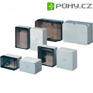 Svorkovnicová skříň polykarbonátová Rittal PK 9510.000, (š x v x h) 130 x 130 x 75 mm, šedá (PK 9510.000)