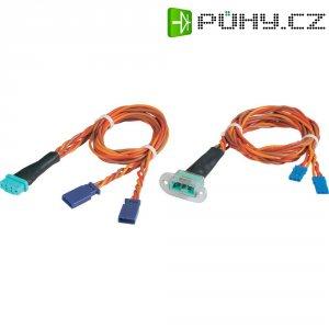 Sada plochých kabelů pro napájení přijímače Modelcraft 0.50 mm², 500 mm