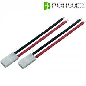 Napájecí kabel Modelcraft, Tamiya zástrčka, 4 mm², 1 pár