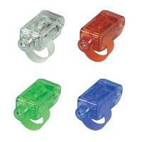 RGB LED žárovky na prsty Basetech, LF001