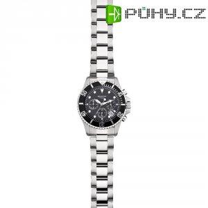 Ručičkové náramkové hodinky Regent F-653 Quartz, pánské, pásek z nerezové oceli