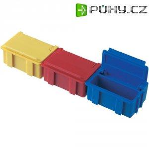 ESD SMD box vodivý Licefa N2-11-11-4-4, (d x š x v) 37 x 12 x 15 mm, žlutá