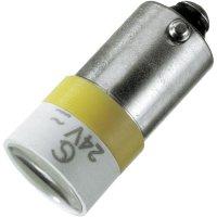 Spot Light, patice BA9S Signal Construct MELB2204 červené