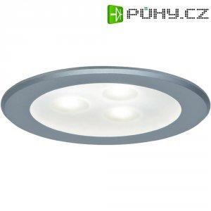 Vestavné LED světlo do nábytku Paulmann Micro Line, 3x 3 W, teplá bílá, 75 mm