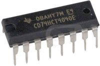 74HCT4040 - 12.stavový binární čítač, DIP16, /74HCT4040/