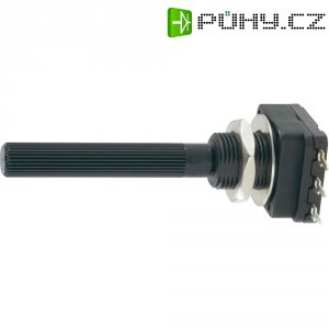 Potenciometr Piher, PC16SH-10IP06224B2020MTA, 220 kΩ, 0,1 W , ± 20 %