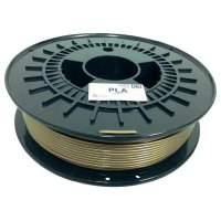Náplň pro 3D tiskárnu, German RepRap 100255, PLA, 3 mm, 750 g, zlatá