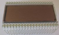 Displej 4DR822B - reflexní podklad + vývody