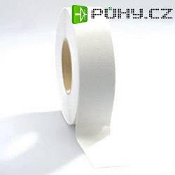 Protiskluzná lepicí páska COBA Europe, 18,3 cm x 50 cm, bílá