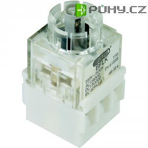 Kontaktní prvek s objímkou žárovky Schlegel BFL5K, otevírač, 250 V